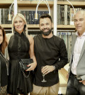 4 Η Πόλυ Δεδέογλου, η αρχιτέκτονας Σοφία Χρήστου, ο ιδιοκτήτης του yffes Θόδωρος Τσεντεμείδης & ο αρχιτέκτονας Νίκος Σγουρός