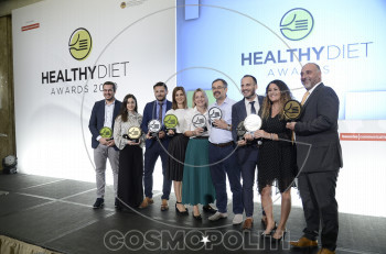 H Barilla Brand of the Year στα Healthy Diet Awards 2020