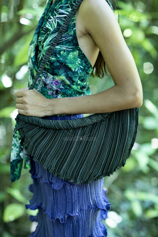 Daphne Valente SS 2020 Artemis printed top & Hazel bag