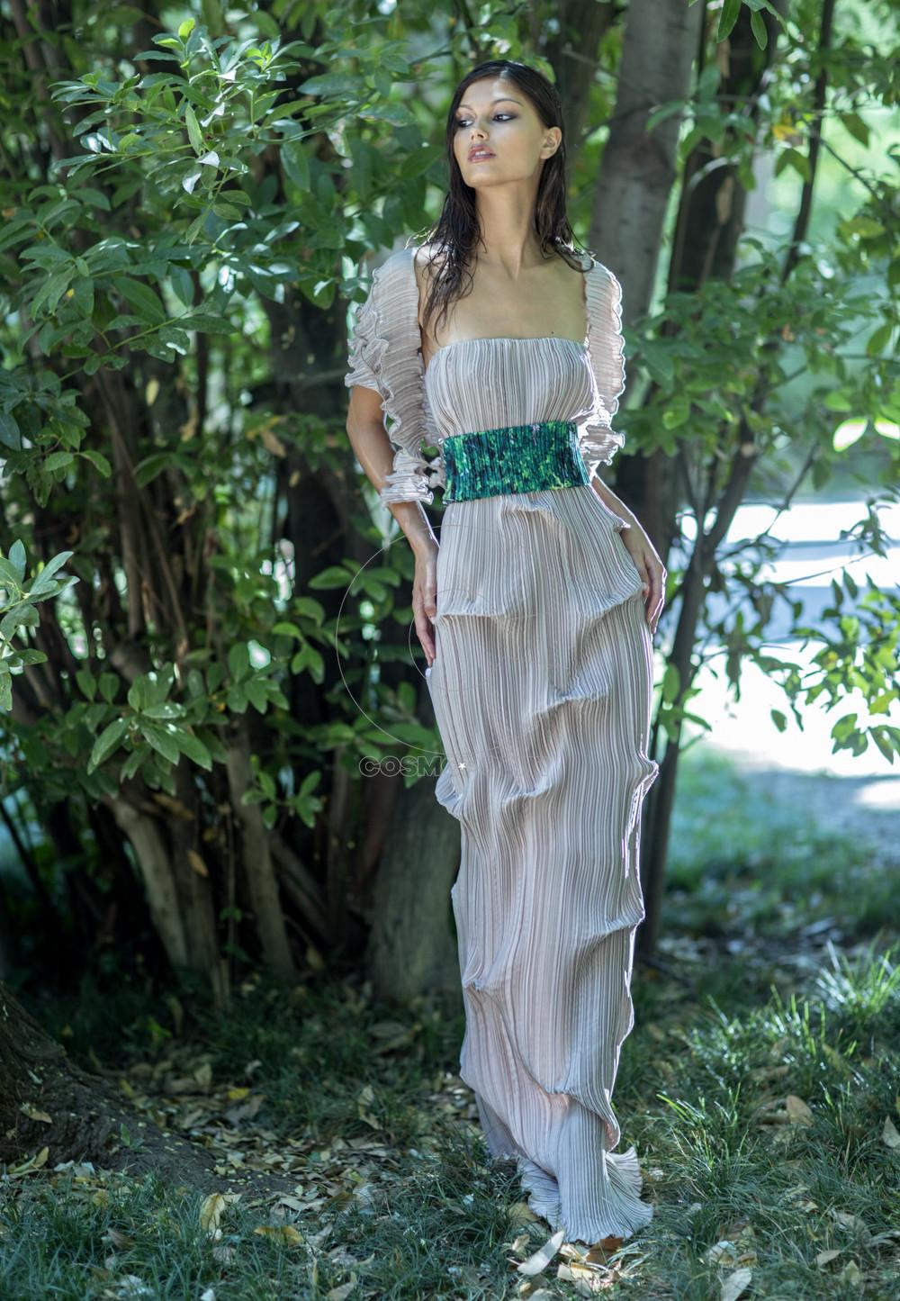 Daphne Valente SS 2020 Banyan dress
