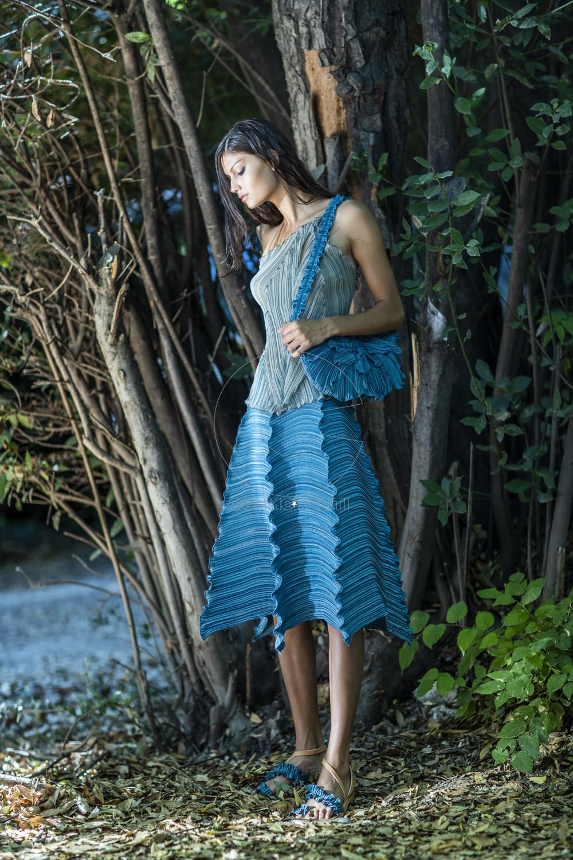 Daphne Valente SS 2020 Zinnia top & Crocus skirt