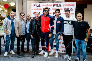 To street party της FILA στο κατάστημα Nodus στον Πειραιά