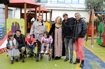 Έκαναν την αγάπη πράξη κοντά στα γενναία παιδιά με αναπηρία  της ΕΛΕΠΑΠ