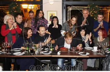 Σινεμασκόπ… γενέθλια για τον Μάκη Δελαπόρτα με αγαπημένους φίλους