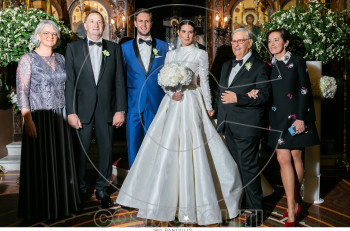 Να ζήσουν! Αναστασία Καίσαρη & Thomas Persy: Υπέρλαμπρος γάμος και φαντασμαγορική δεξίωση