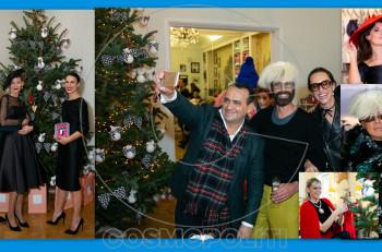 Το Pre Christmas Party του Vassilis Zoulias είχε άρωμα The Bow