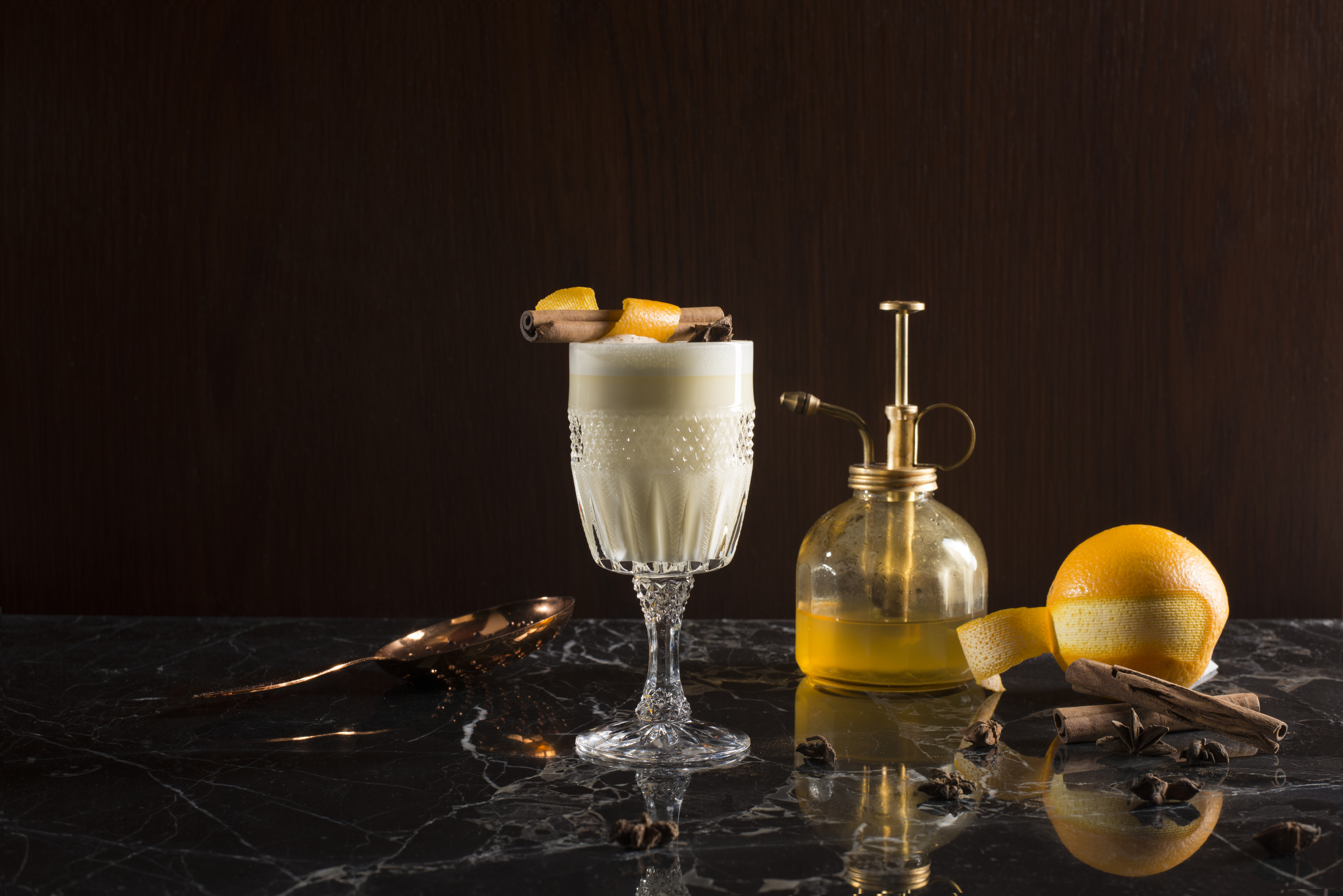 Hot Butter Toddy Cocktail