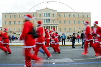 To 6o Santa Run επιστρέφει στο Κέντρο της Αθήνας!