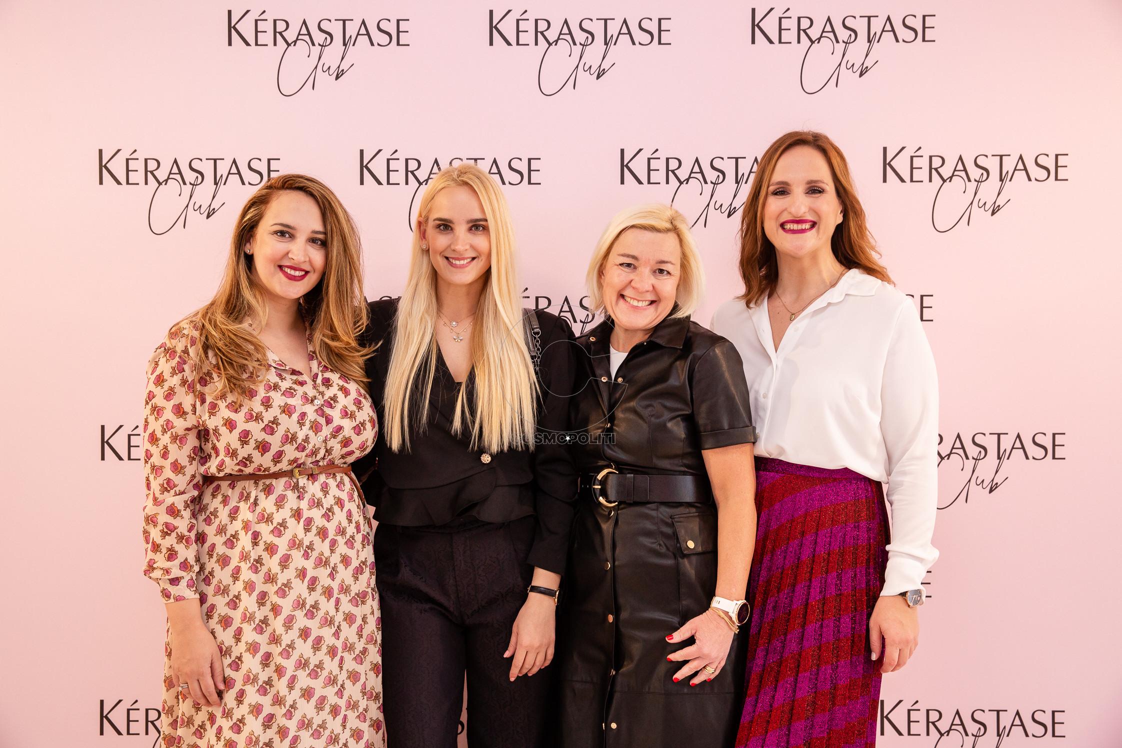 Κλέλια & Άννα Πανταζή, Μαρίνα-Λήδα Κουταρέλλη, Άννα Χαμαλέλη, Brand Manager Kerastase