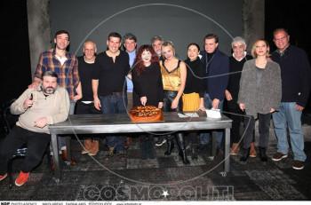 """Κοπή πίτας για """"Το τέλειο έγκλημα"""" στο θέατρο Κιβωτός"""
