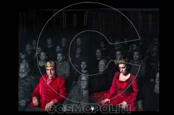 """Δημήτρης Λιγνάδης & Μαρία Κίτσου στον """"Μακμπέθ"""" σε συμπαραγωγή Εθνικού & Δημοτικού Θεάτρου Πειραιά"""