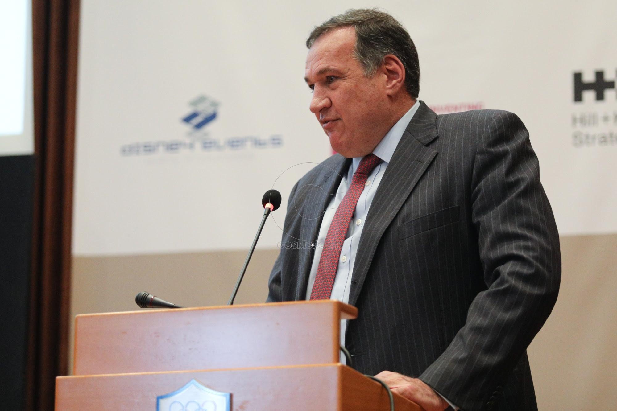 Πρόεδρος ΕΟΕ - Σπύρος Καπράλος