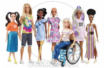 Η Barbie προάγει τη διαφορετικότητα