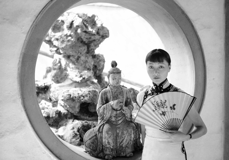 Anna May Wong, famous Chinese-American actress.