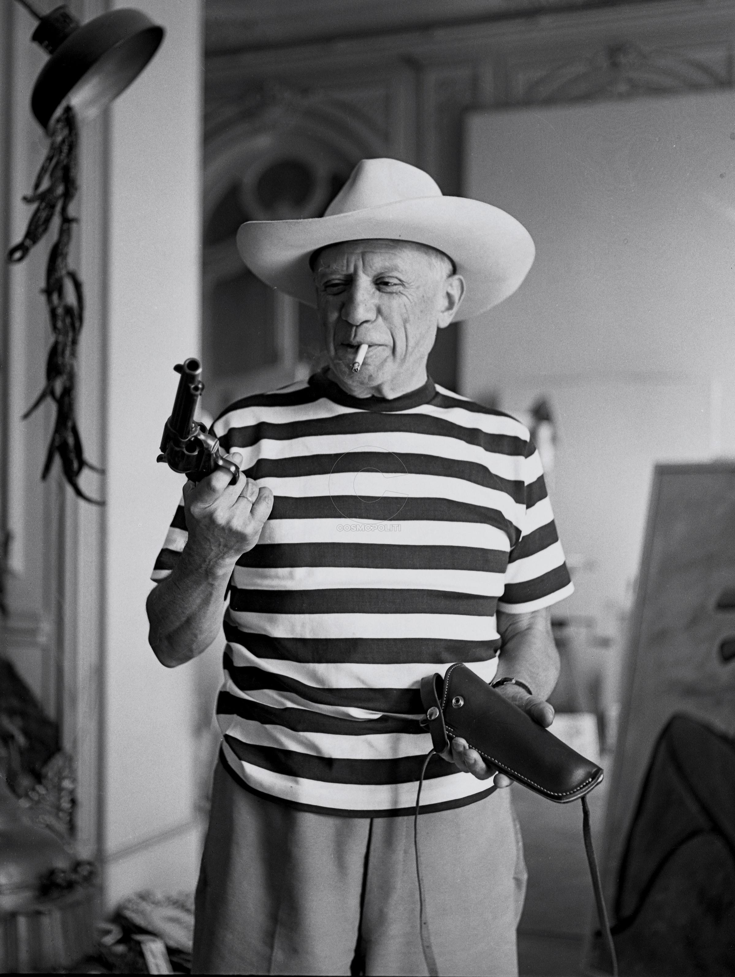 Pablo Picasso, photographié par André Villers