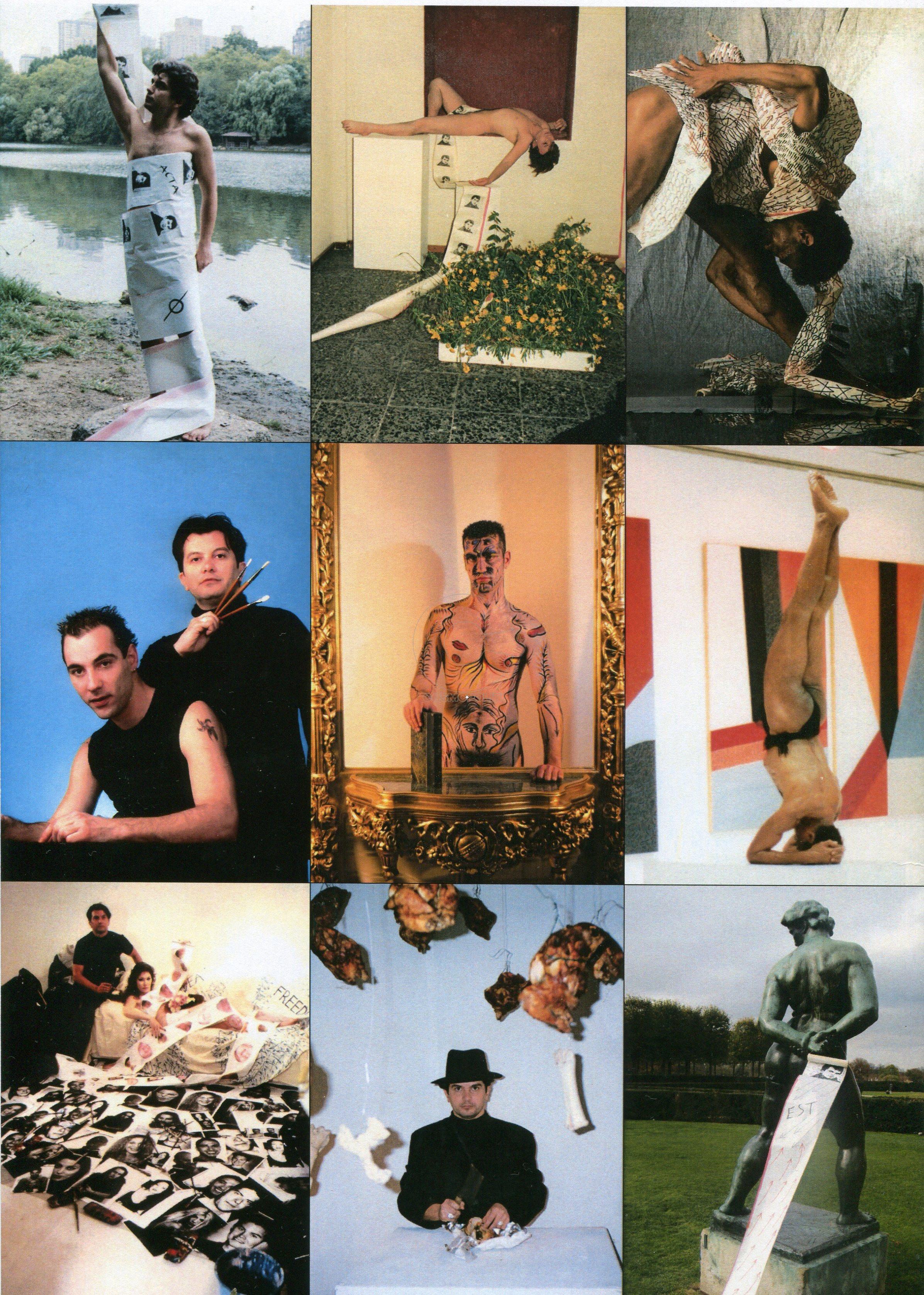 Costas Evangelatos, documents by Performances