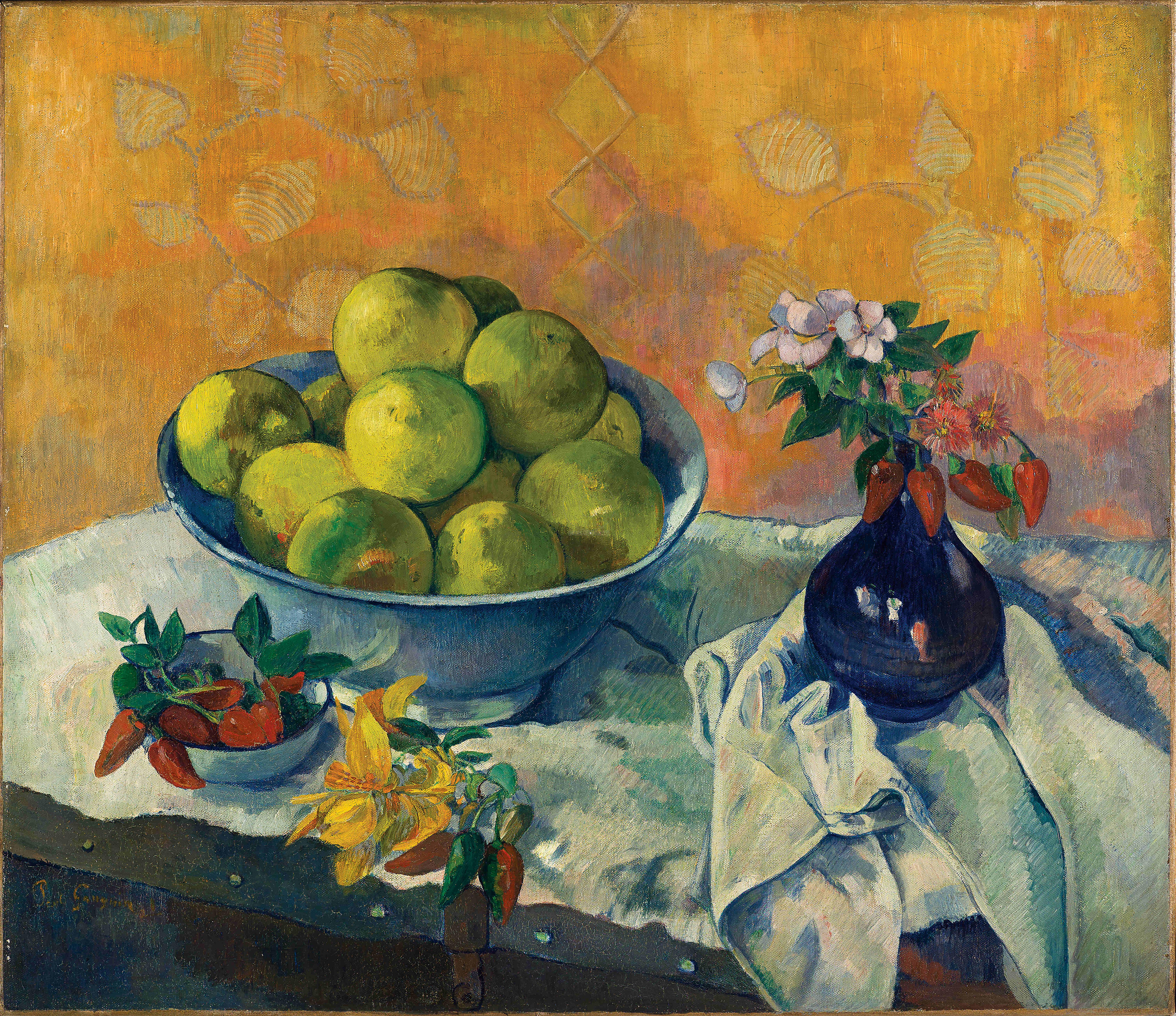 Gauguin Paul, Nature morte aux pamplemousses