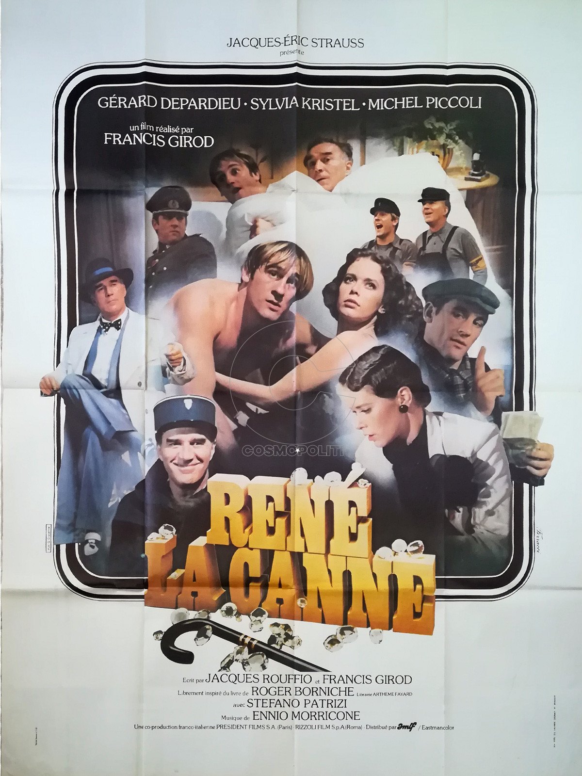 rene-the-cane-original-movie-poster-47x63-in-1977-francis-girod-gérard-depardieu