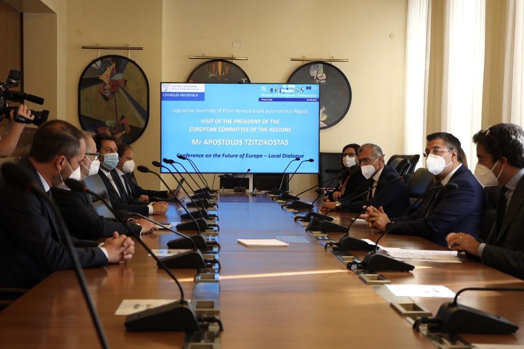 Απόστολος Τζιτζικώστας: Επίσκεψη στην Τεργέστη με ατζέντα συναντήσεων 4
