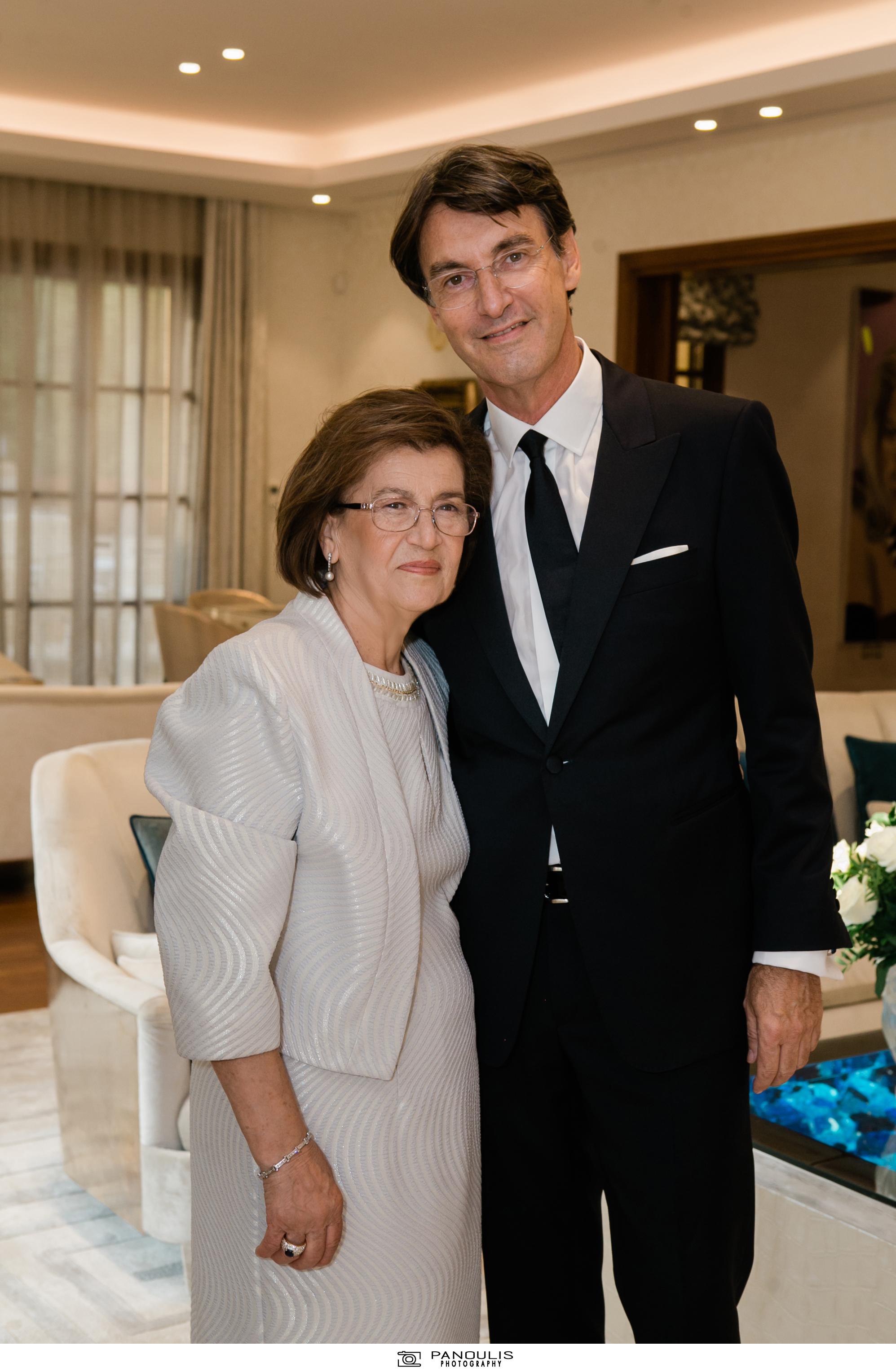Κλέλια Χατζηιωάννου & Κωνσταντίνος Σκορίλας: Ένας υπέροχος γάμος με λαμπερούς καλεσμένους 6