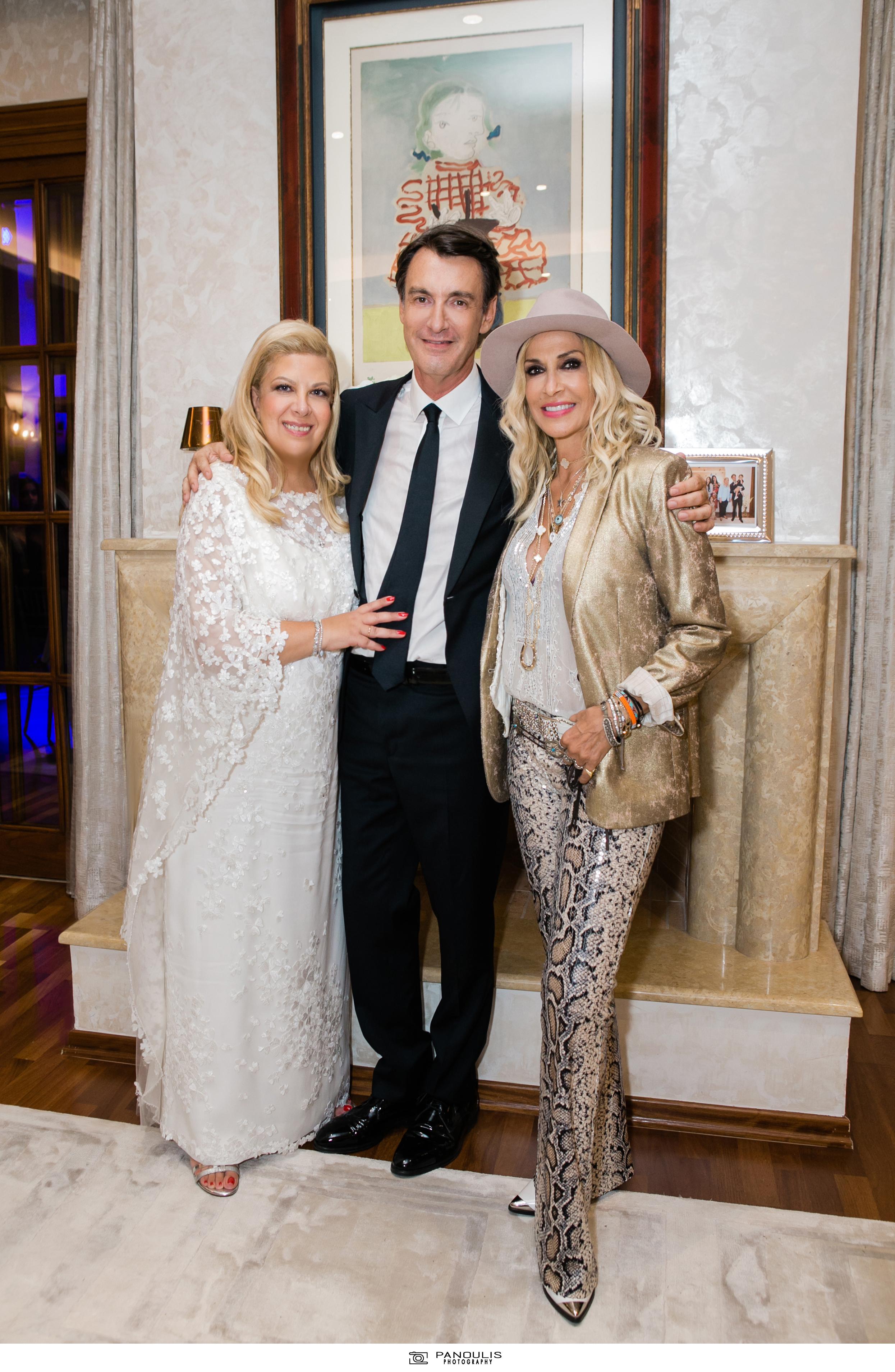 Κλέλια Χατζηιωάννου & Κωνσταντίνος Σκορίλας: Ένας υπέροχος γάμος με λαμπερούς καλεσμένους 4