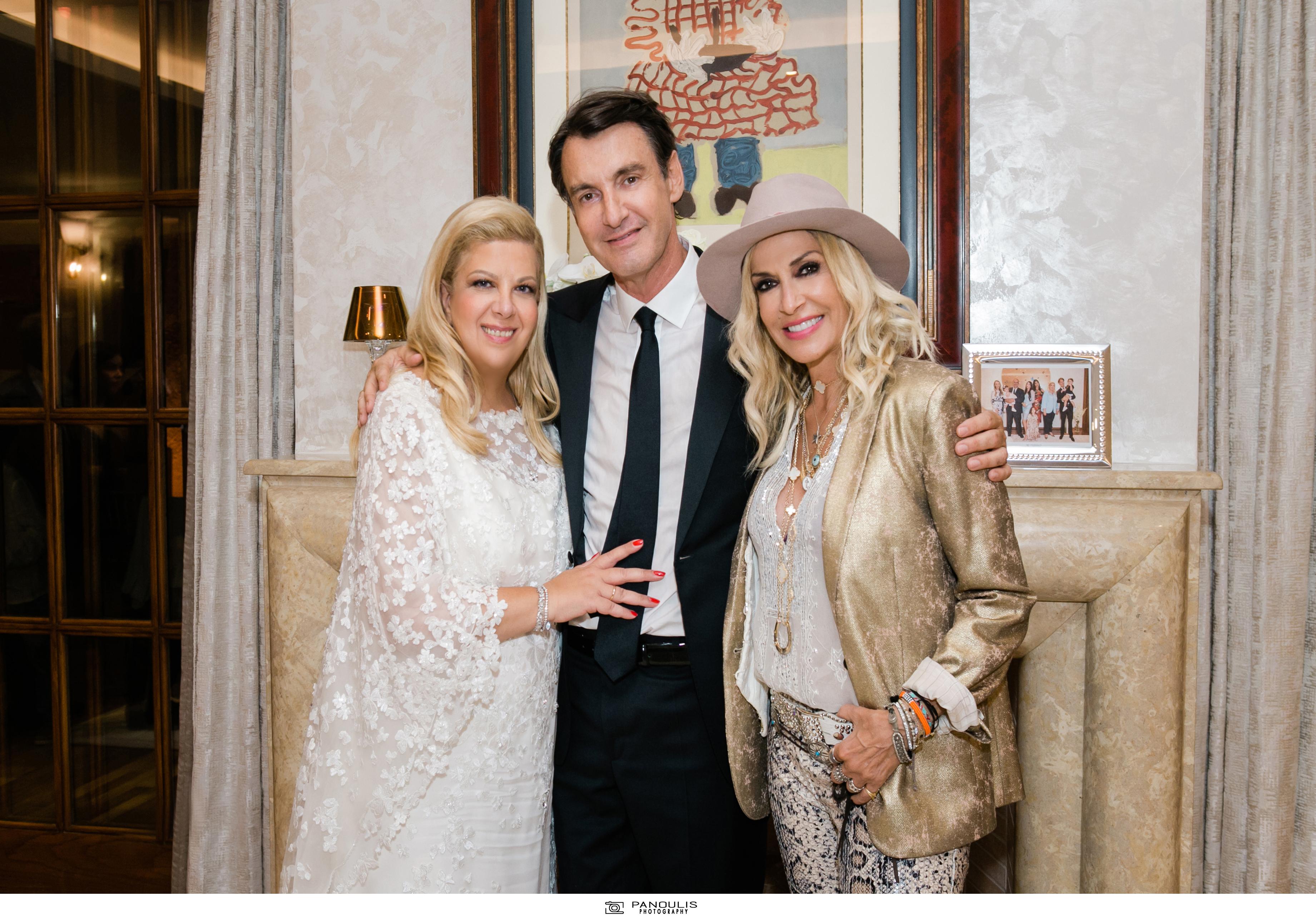 Κλέλια Χατζηιωάννου & Κωνσταντίνος Σκορίλας: Ένας υπέροχος γάμος με λαμπερούς καλεσμένους 5