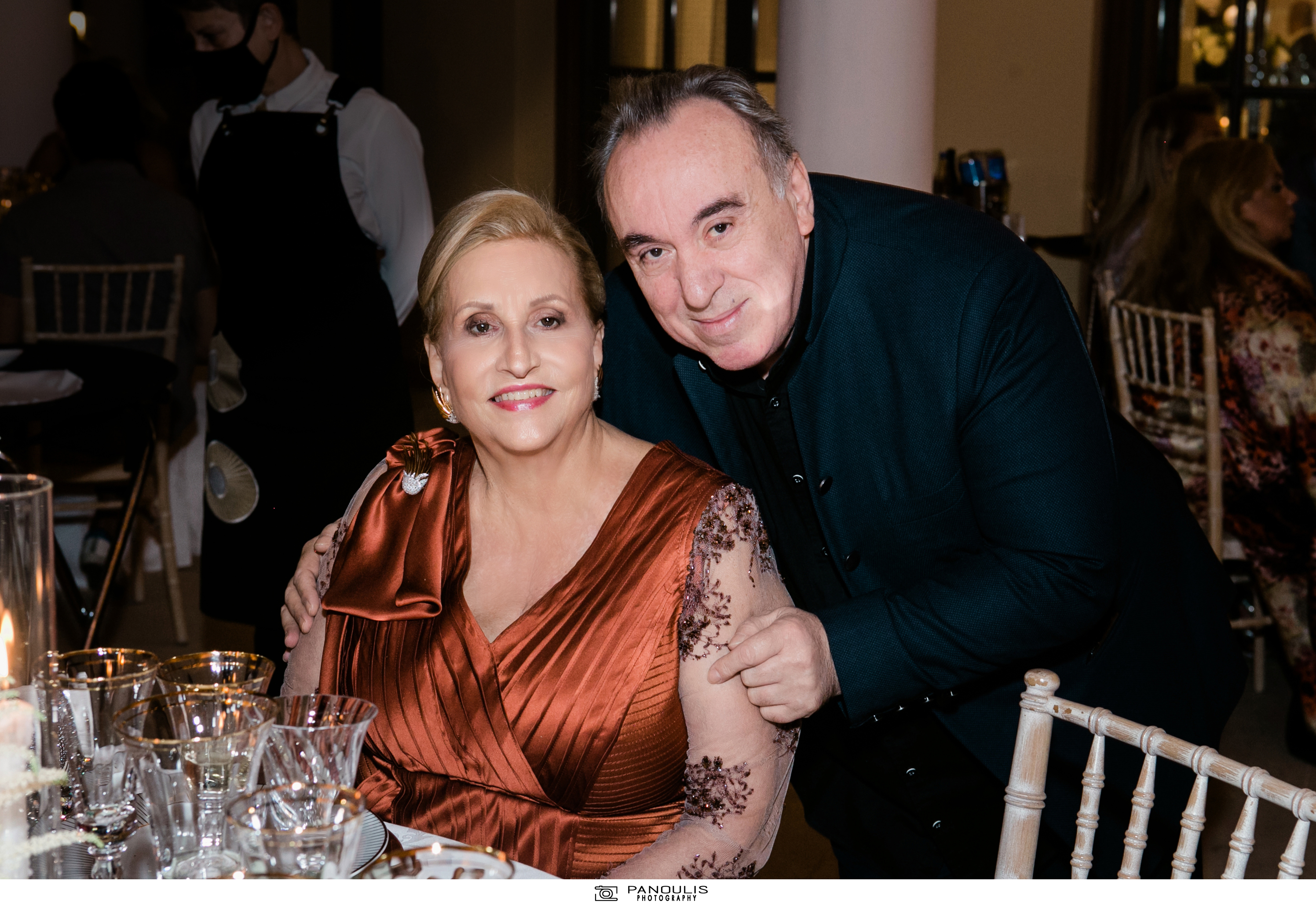 Κλέλια Χατζηιωάννου & Κωνσταντίνος Σκορίλας: Ένας υπέροχος γάμος με λαμπερούς καλεσμένους 20