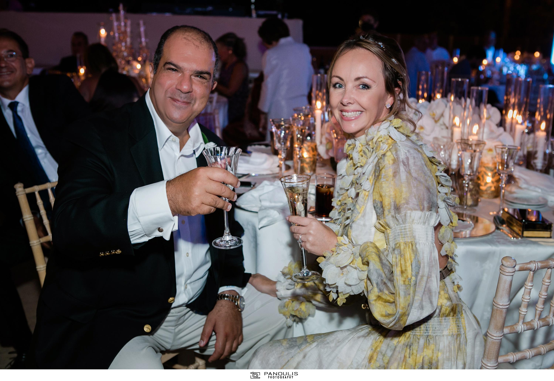 Κλέλια Χατζηιωάννου & Κωνσταντίνος Σκορίλας: Ένας υπέροχος γάμος με λαμπερούς καλεσμένους 16