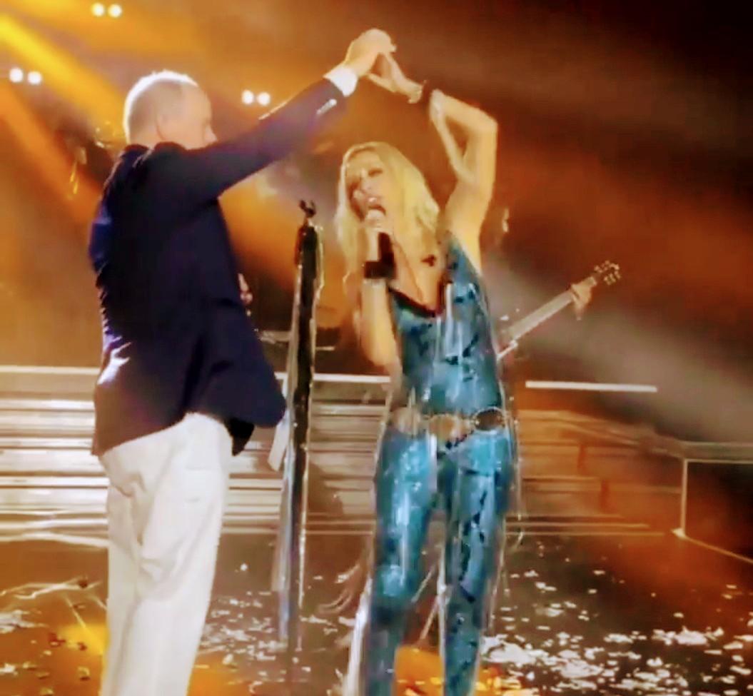 """Άννα Βίσση-Πρίγκιπας Αλβέρτος του Μονακό: Χόρεψαν το """"12"""" στη σκηνή 2"""